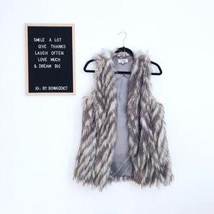 [C. Russe] Faux Fur Vest